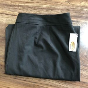 NWT Talbots Stretch Brown Dress Pant Size 16